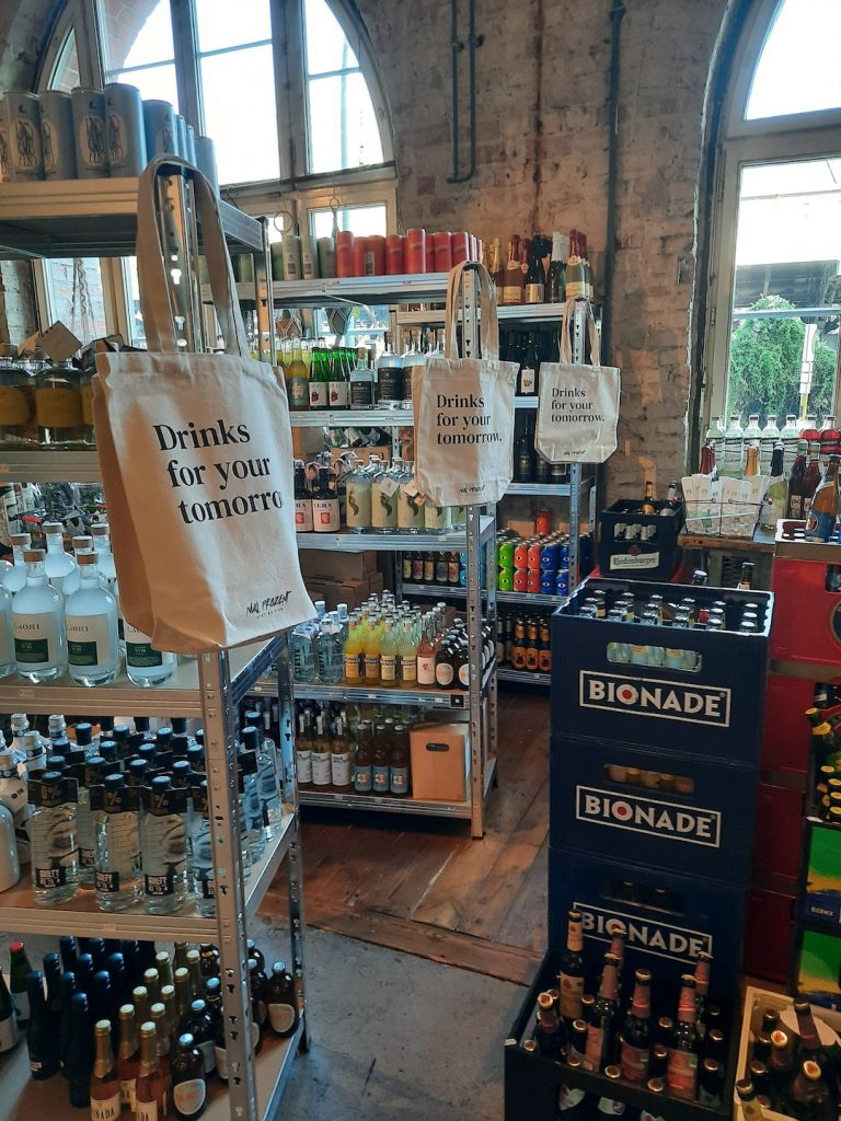 photo of the first alcohol free late night shop in Germany